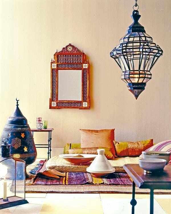 Moroccan decor | Marrokanische Ideen | Pinterest | Ideen