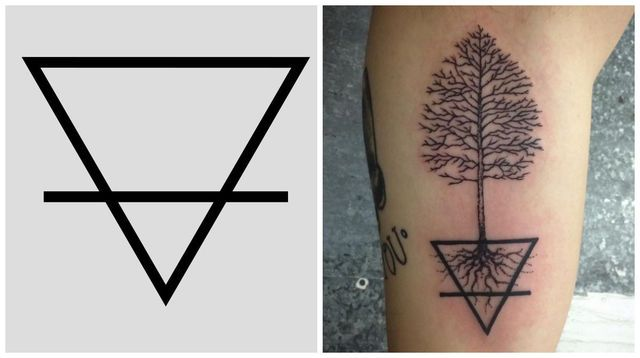 13 haunting Wiccan tattoos, and what they mean