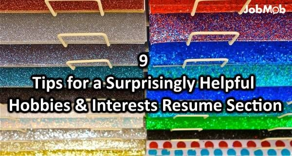 📝 9 Tips for a Surprisingly Helpful Hobbies \ Interests Resume - hobbies in resume