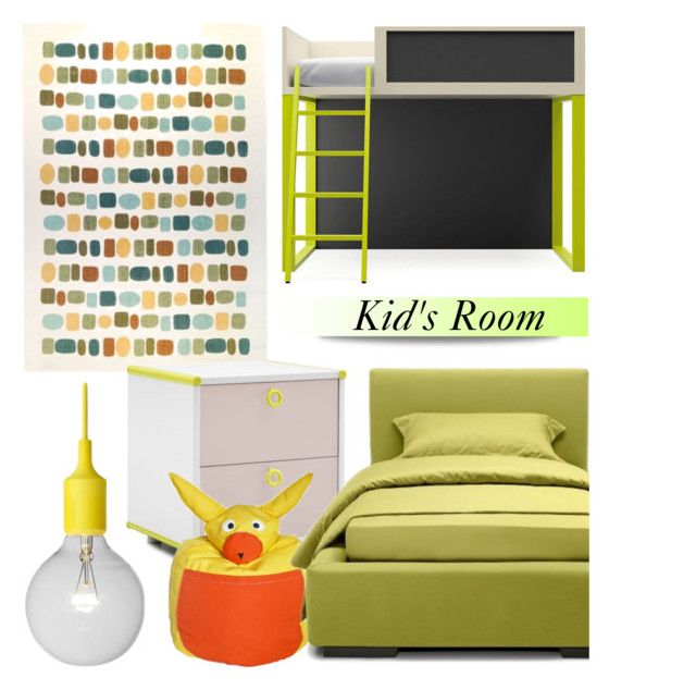 """Kid's Room"" by lovethesign-eu ❤ liked on Polyvore featuring interior, interiors, interior design, home, home decor, interior decorating, Home and kidsroom"