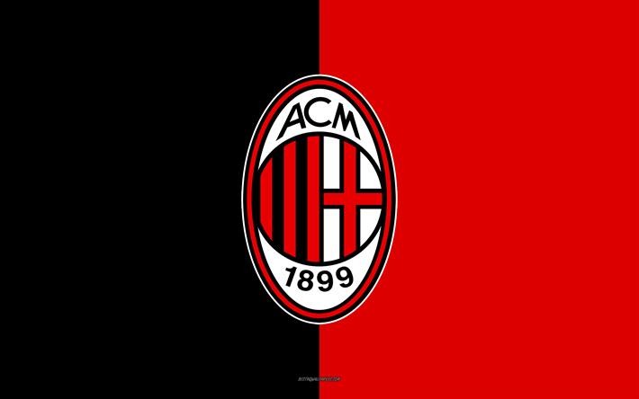 Ac Milan Logo Black