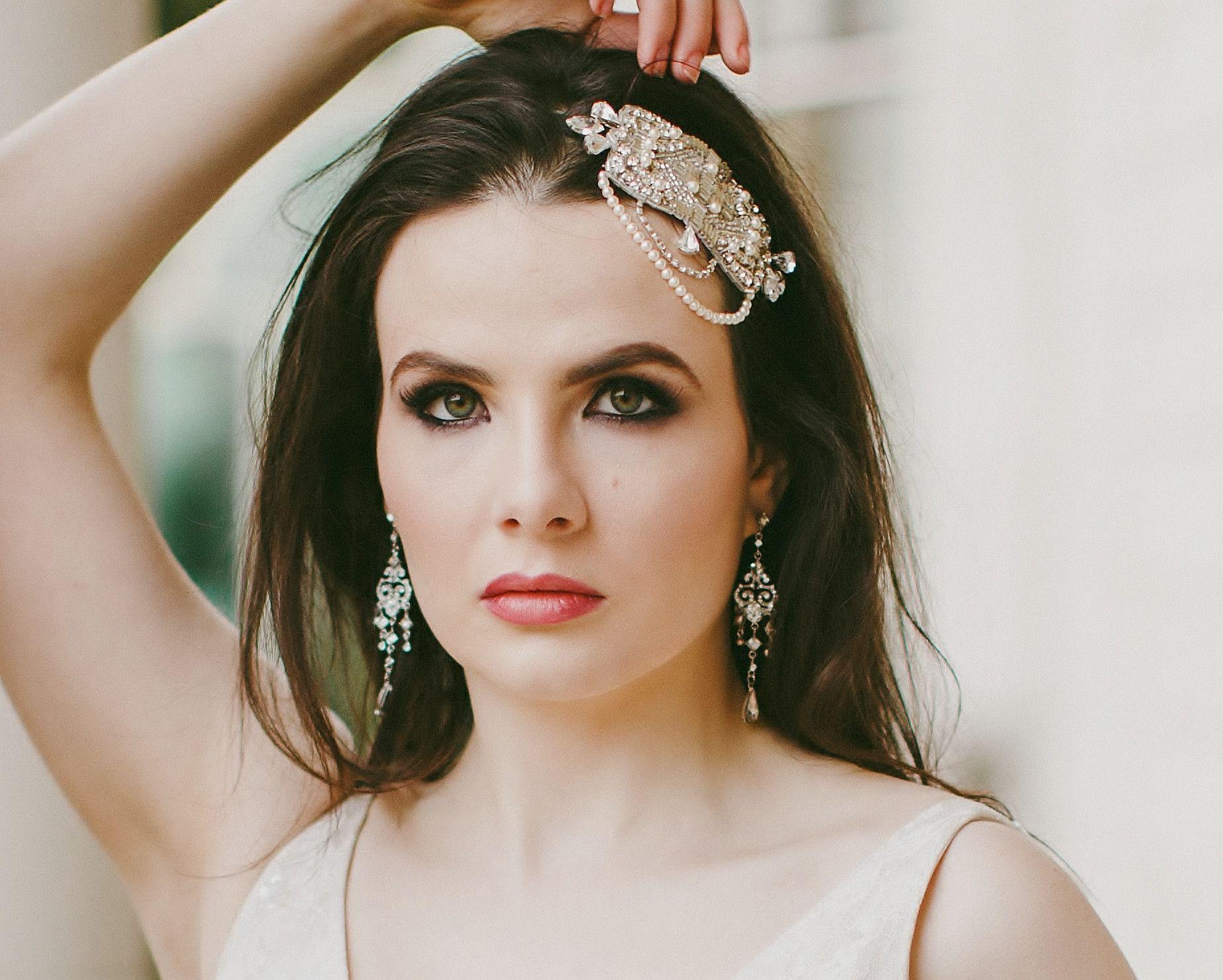 a72d18df17905 Lauren, Embellished Appliqué Headband | Magical Mystic Weddings ...
