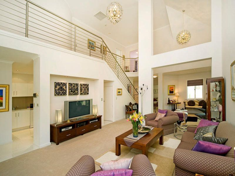 Charming Room Stairs Design Living Room With Stairs Living Room