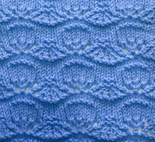Wavy Knit Stitch Knitting Pinterest Stitch Knitting Stitches