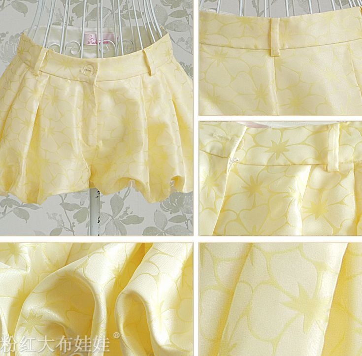 2012 New Arrival Lady's Low Waist Bloomers Short Pants