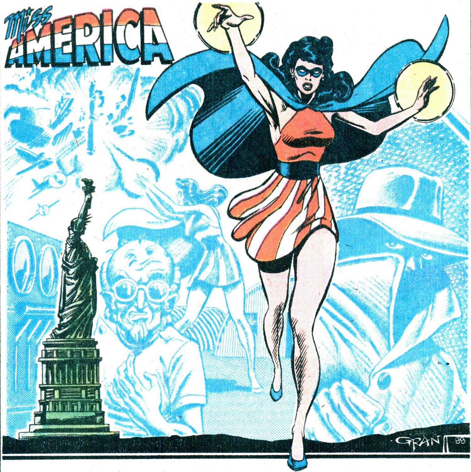 Miss america original freedom fighters comic stuff freedom fighters pinterest freedom fighters