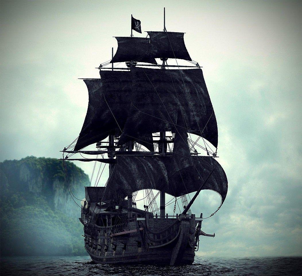Black Pearl Tatuagem De Navio De Pirata Tatuagens De