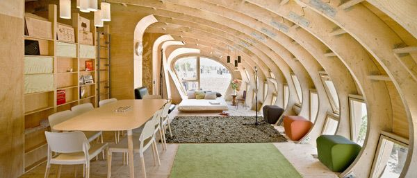 Most Beautiful Houses In The World: Eco Friendly House With Solar Panels,  Madrid
