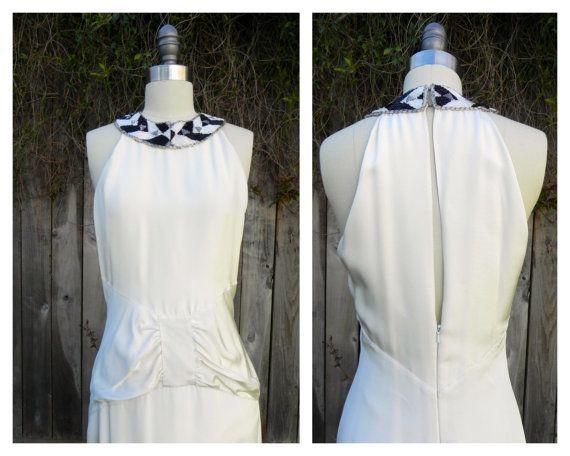 Vintage Mermaid Wedding Gown