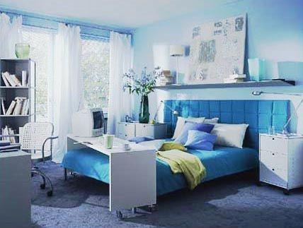 Schlafzimmer Türkis ~ Wohnen mit blau wohntipps für wohnzimmer schlafzimmer bad