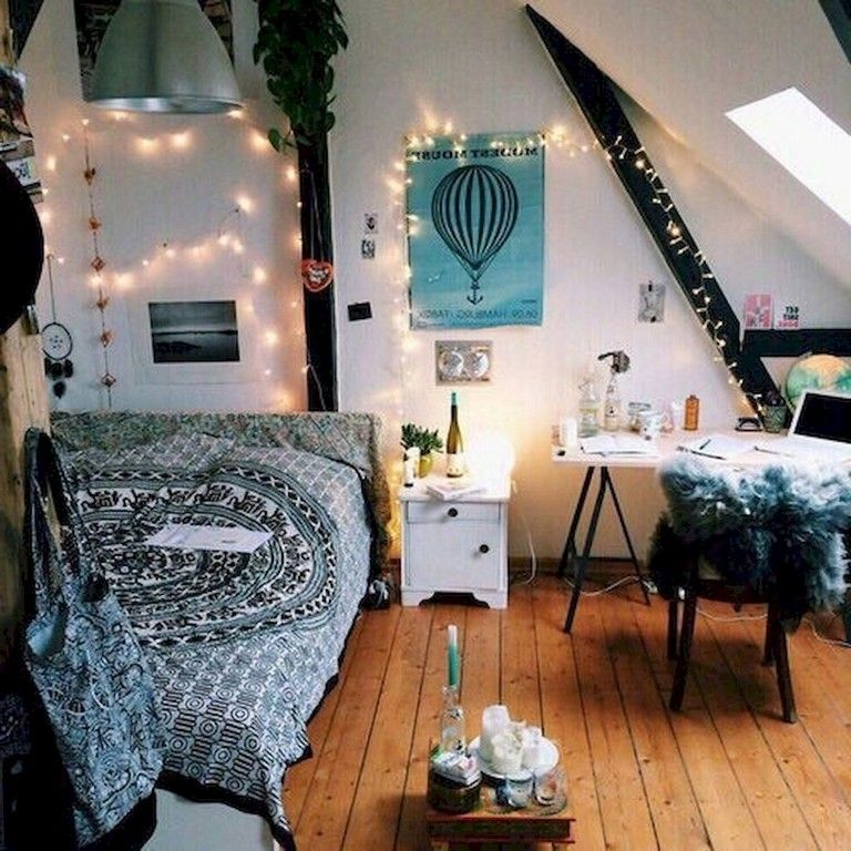 63+ Sweety DIY Hipster Bedroom Decorations Ideas images