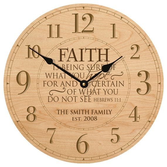 Personalized Wall Clock, Wedding Clock, Parent Wedding Gift, Anniversary  Wedding Gift,Bedroom