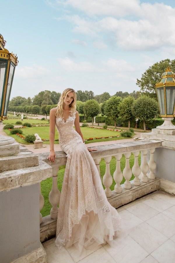 How Romantic is this Champagne Gown from Lian Rokman\'s 2017 ...