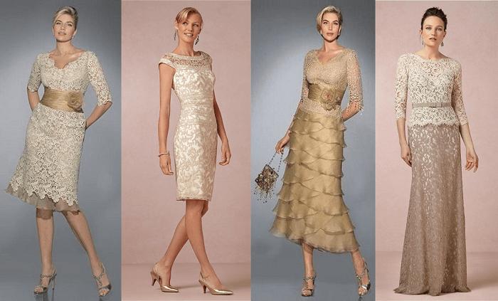 Vestidos para novias bodas de oro