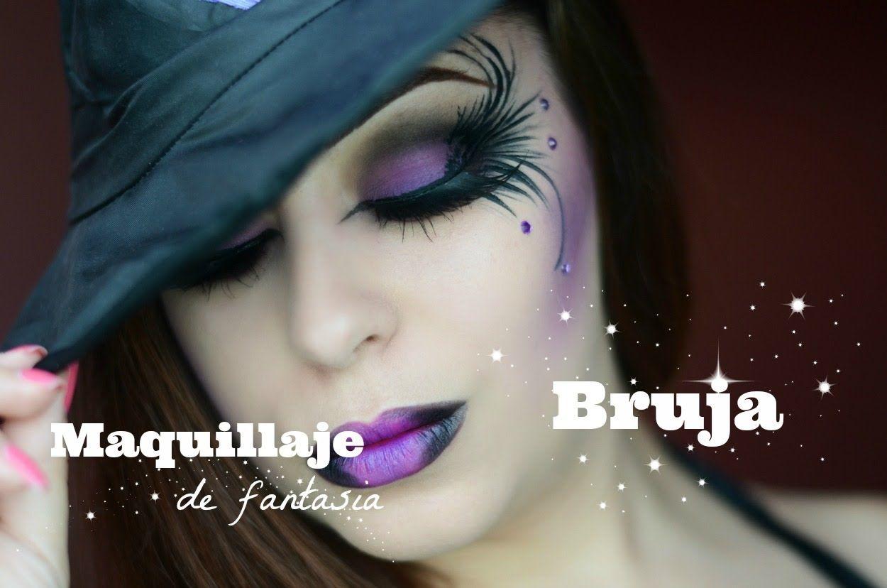 Maquillaje de Bruja RebecaMakeup maquillaje Pinterest