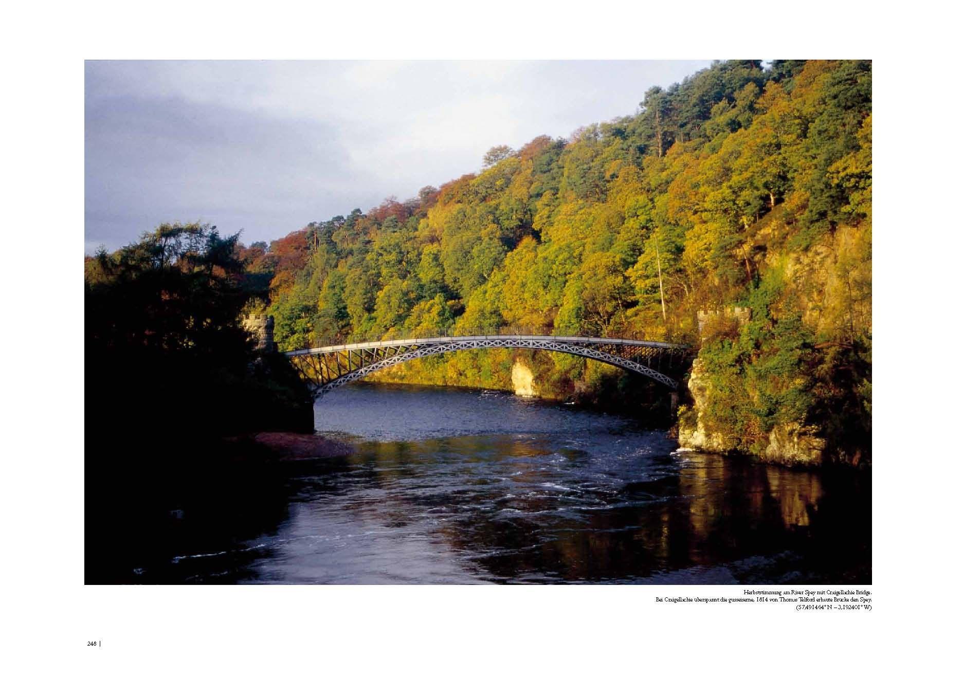 page 248 - River Spey with Telford bridge (©Big Book Schottland · R.J.Hirst · www.alba-collection.com)