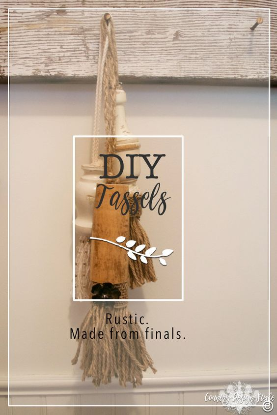 Best How To Turn Chunky Wood Spindles Into Diy Tassels Diy 400 x 300