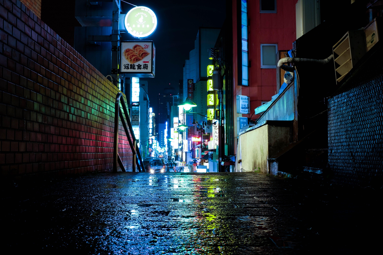 Japan Tokyo Night Urban Lights Neon 4k Wallpaper Hdwallpaper Desktop In 2020 World Wallpaper Neon Wallpaper Photography Wallpaper