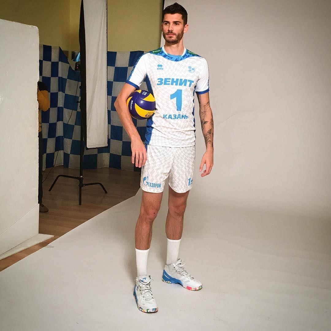 11 10 2016 Oleg Bryzgalov Oleggebr Ig Zenit Kazan Photoshoot Matt Anderson Volleyball Matthew Anderson Anderson Volleyball