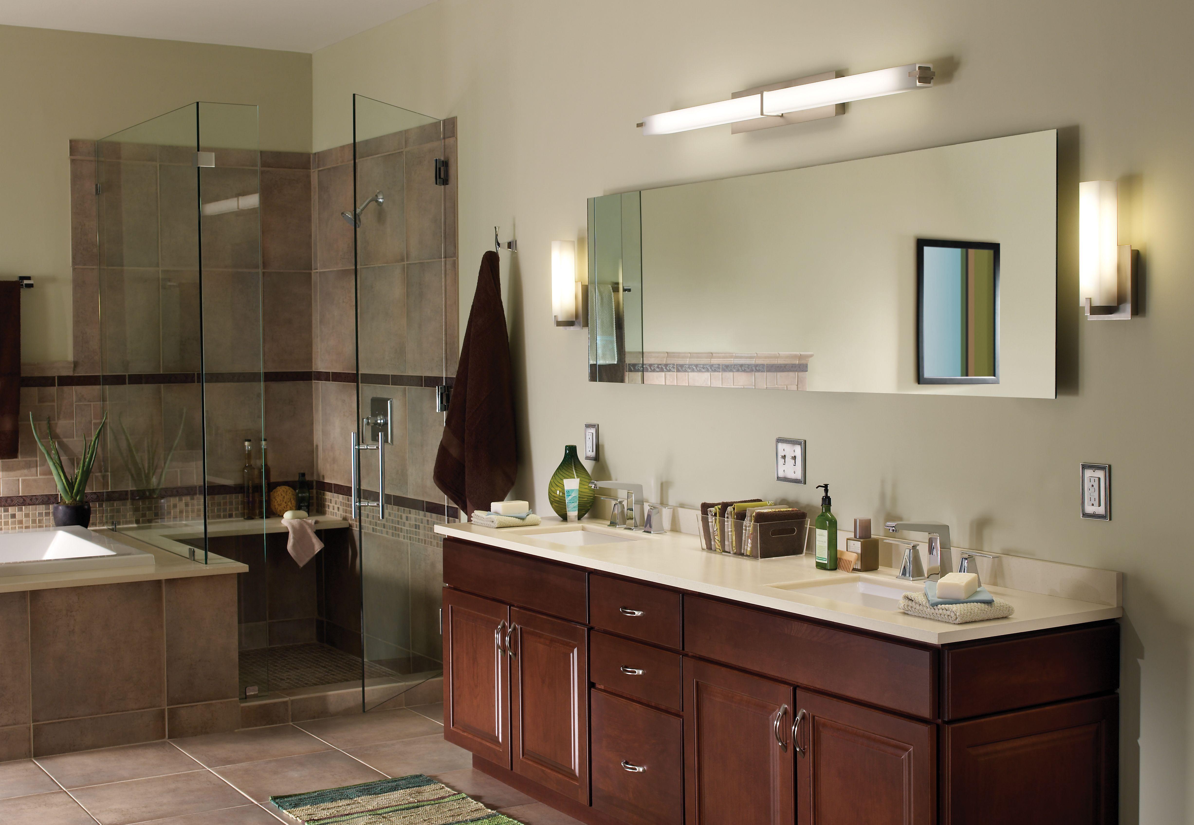 Cosmo Wall Details Tech Lighting Modern Bathroom Lighting Bathroom Lighting Design Light Fixtures Bathroom Vanity
