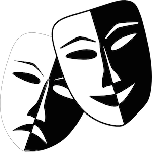 10 Plays That Were Adapted From Novels Theatre Masks Drama Masks Comedy And Tragedy