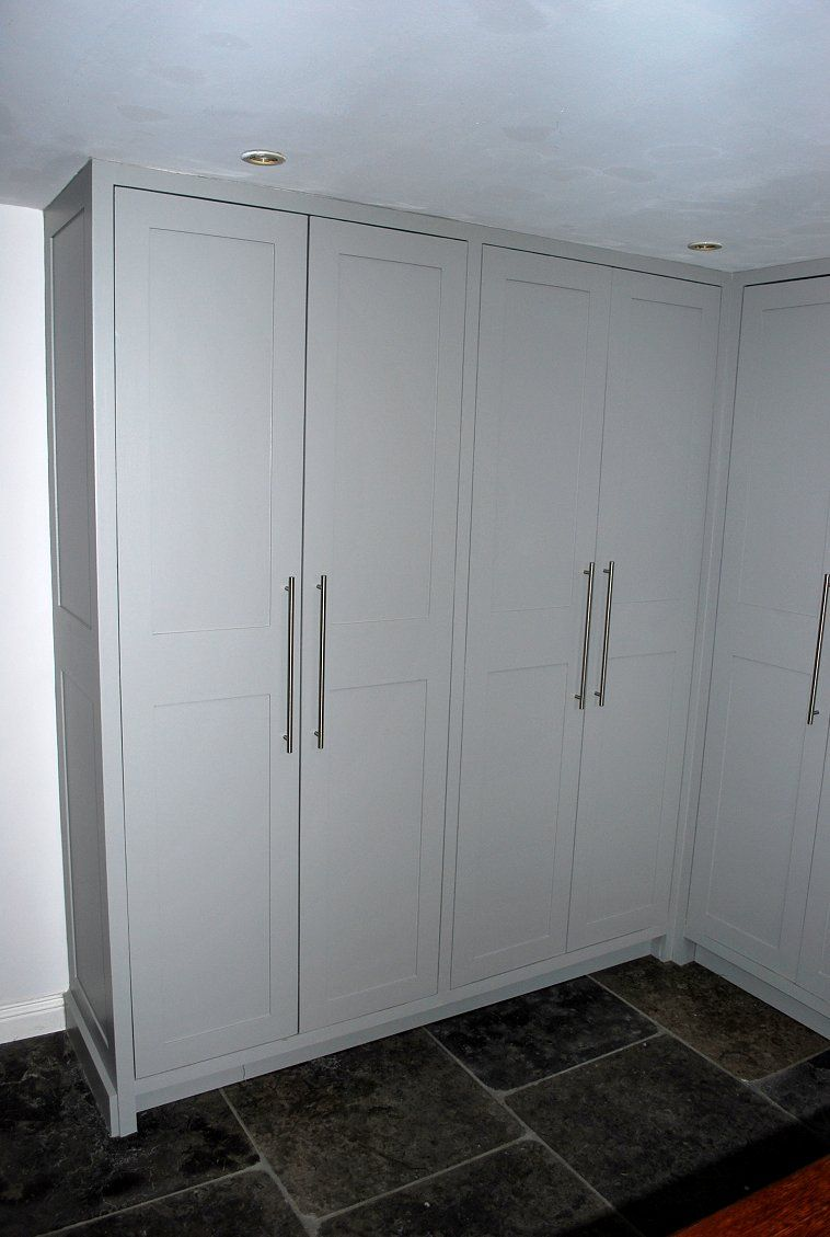 Quality Bespoke Kitchens Nick Adams Kitchens Narrow Laundry Room Locker Storage Bespoke Kitchens