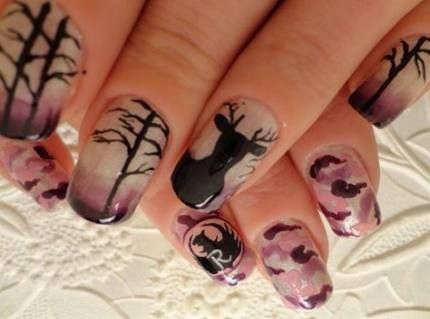Trendy nails brown design country girls 55+ ideas images
