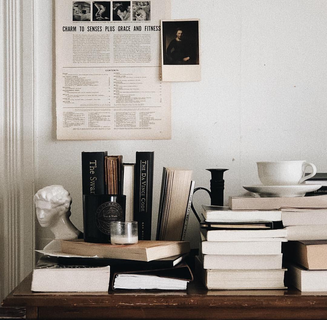 a workspace. Work space, Bookstagram inspiration