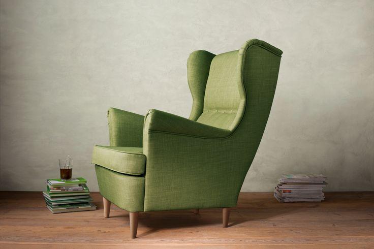 Lounge Stoel Ikea : Strandmon oorfauteuil ikea ikeanl ikeacatalogus fauteuil
