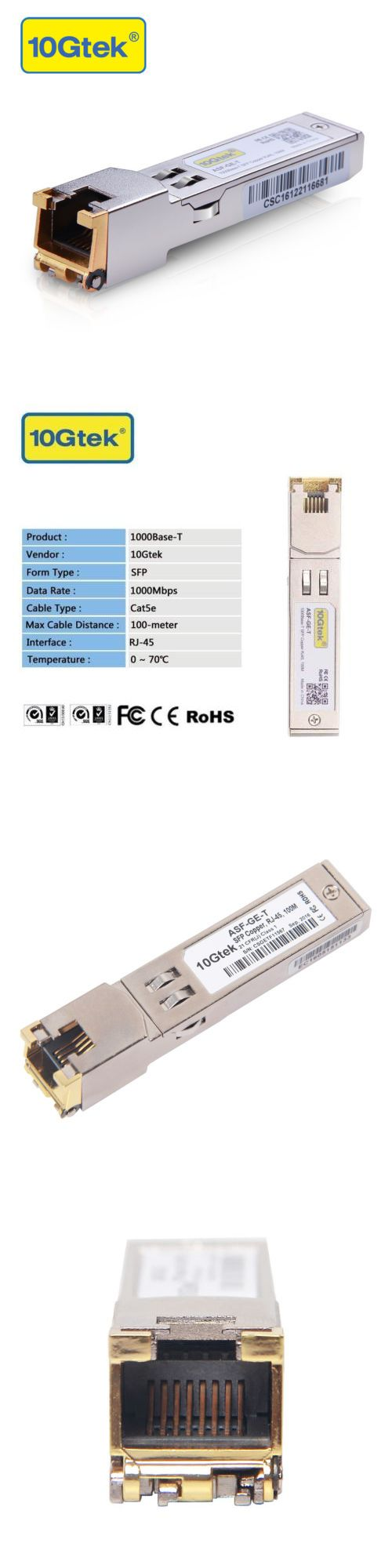Switches And Hubs 182091 Glc T For Cisco 1000base T Sfp Optic Fiber Module Cat5e Copper Rj45 100m Buy It Now Only 17 35 On Eba Rj45 Cisco Switch Optical