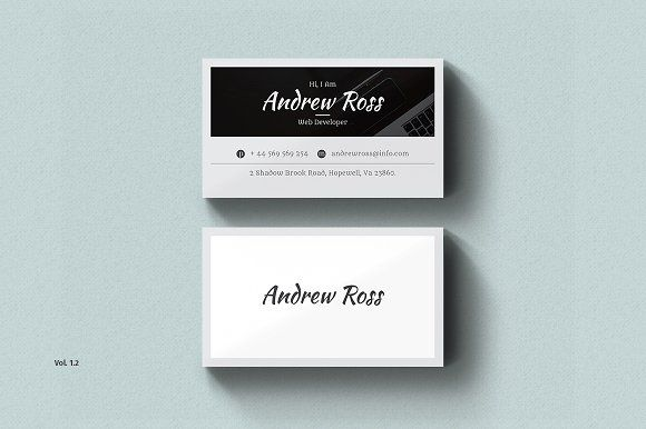 Business Card | Business cards, Card templates and Personal identity