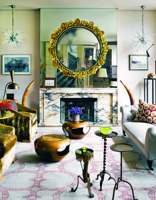 An Eclectic London Living Room Styled By Architectural Digest And Elle  Decor Contributor Carlos Mota.