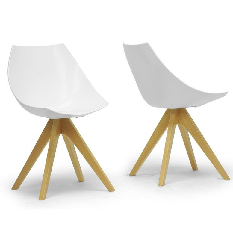 Ultra Modern Dining Chairs helio chair (2 set) | minimalist design, bucket chairs and minimalist