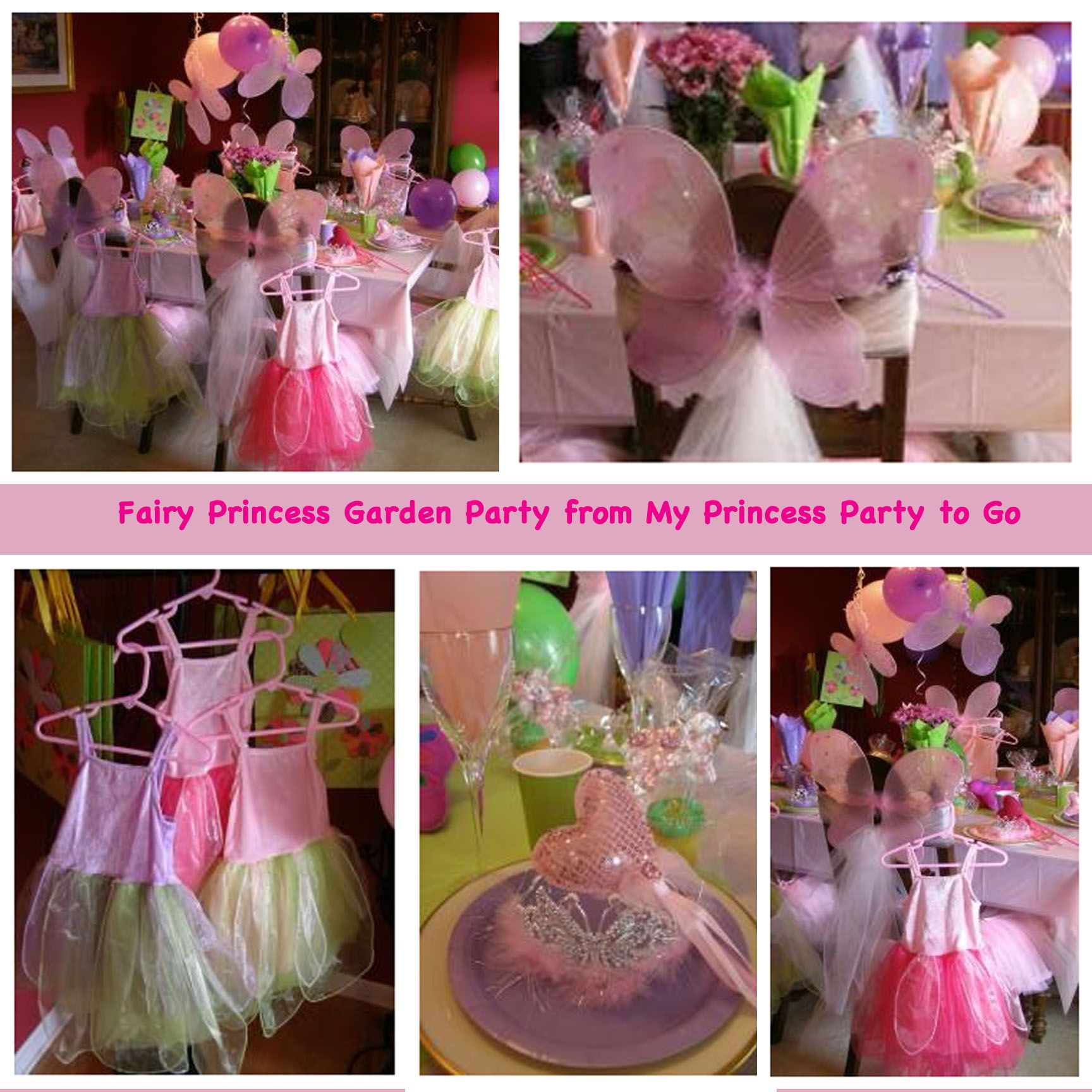 Fairy Princess Garden Party From My Princess Party To Go