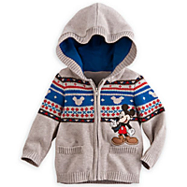 471f5aa976a213 Mickey Mouse Hooded Knit Sweater for Baby | cute!! | Outfits-Boys ...