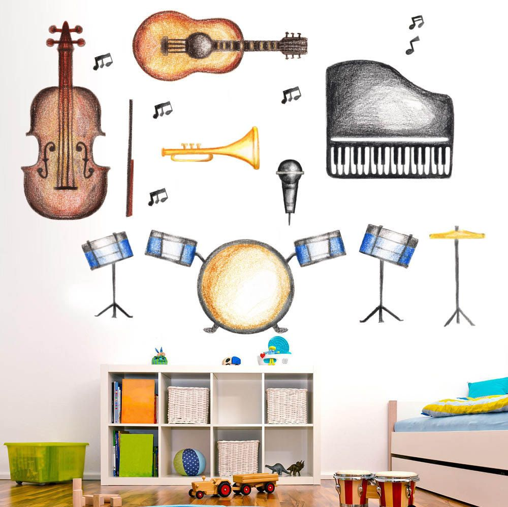 Classroom decorations musicians musicians gift Classroom decor Teacher gift Educational Wall Decal Back to school Educational toy  sc 1 st  Pinterest & Classroom decorations musicians musicians gift Classroom decor ...