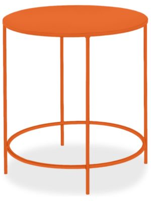 Slim Round End Tables In Colors Modern End Tables Modern