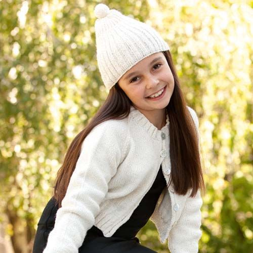 Kids Beanie and Scarf using Patons yarn | Knit for Kids | Pinterest