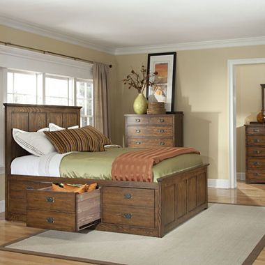 jcpenney.com | Oak Ridge Bedroom Collection