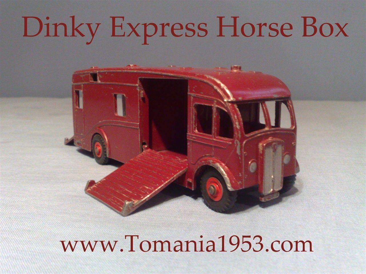 Dinky supertoys no us export model express horse box
