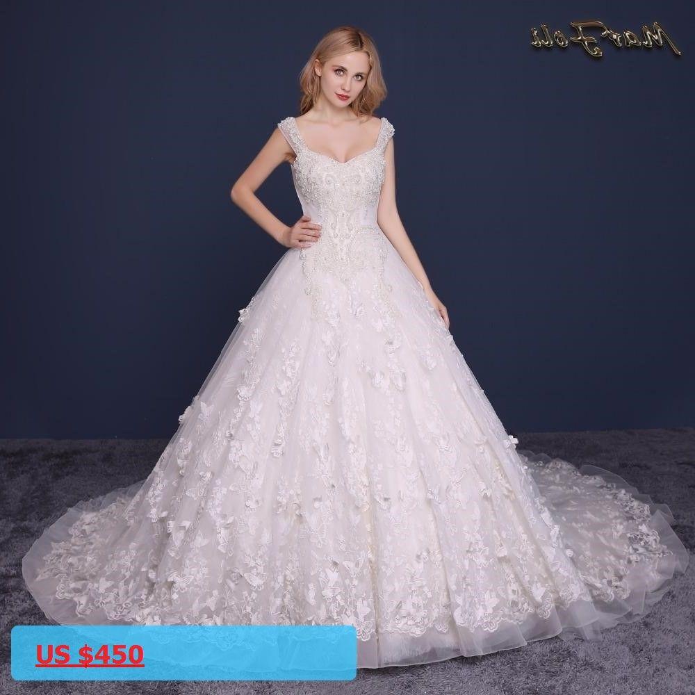 vestido de noiva Custom Made Wedding Dresses Elegent High-end ...