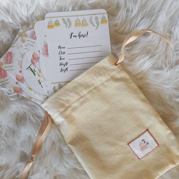 Australiana Baby Milestone Cards - 24 Pack in 2019 | Baby ...