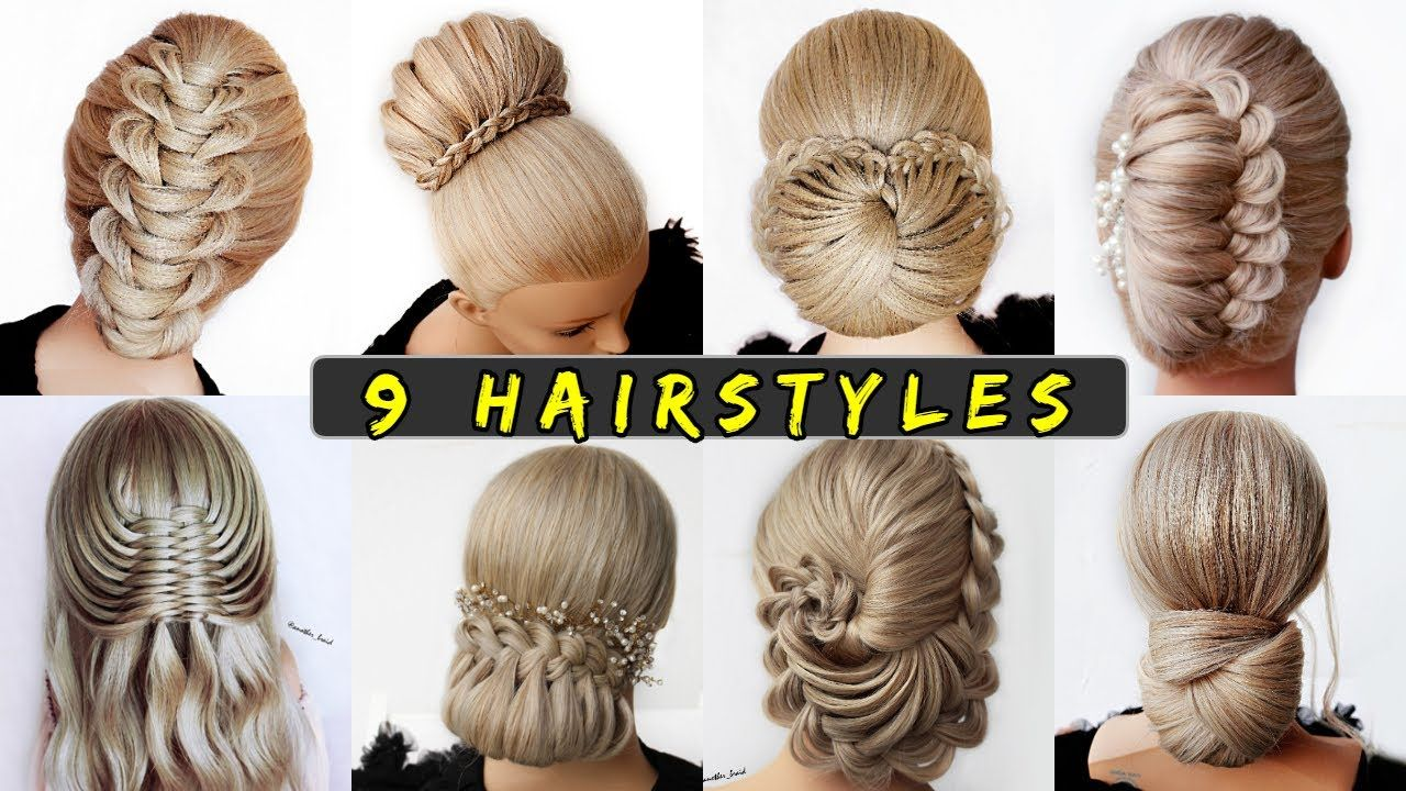 9 Easy Updo Hairstyle Tutorials Wedding Prom Updo Perfect For Long Medium In 2020 Easy Updo Hairstyles Tutorials Easy Updo Hairstyles Updo Hairstyles Tutorials