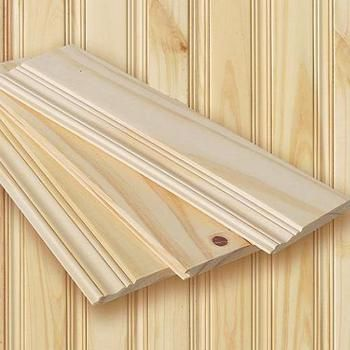 Classic Solid Hardwood Wainscoting Tongue And Groove Planking Plank Wood Interiors Knotty Pine