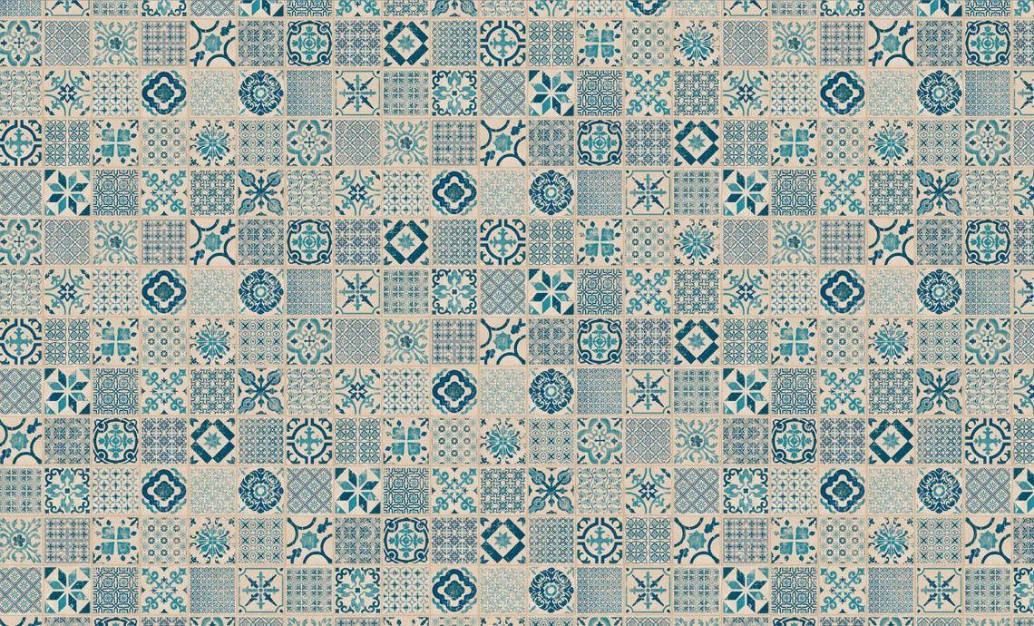 Home plus Fix - Porto blue: Vinyl-Klick Fliesen (Limited edition ...
