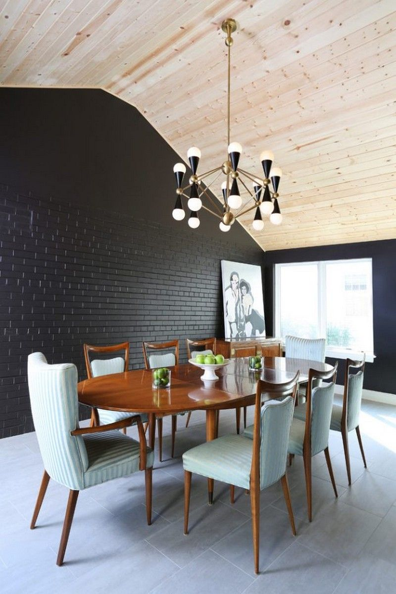 Get Inspired With These 35 Luxury Mid Century Modern Dining Room