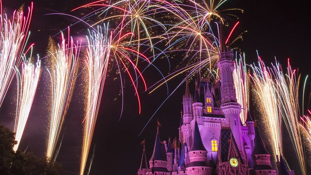 Wishes Nighttime Spectacular at The Magic Kingdom