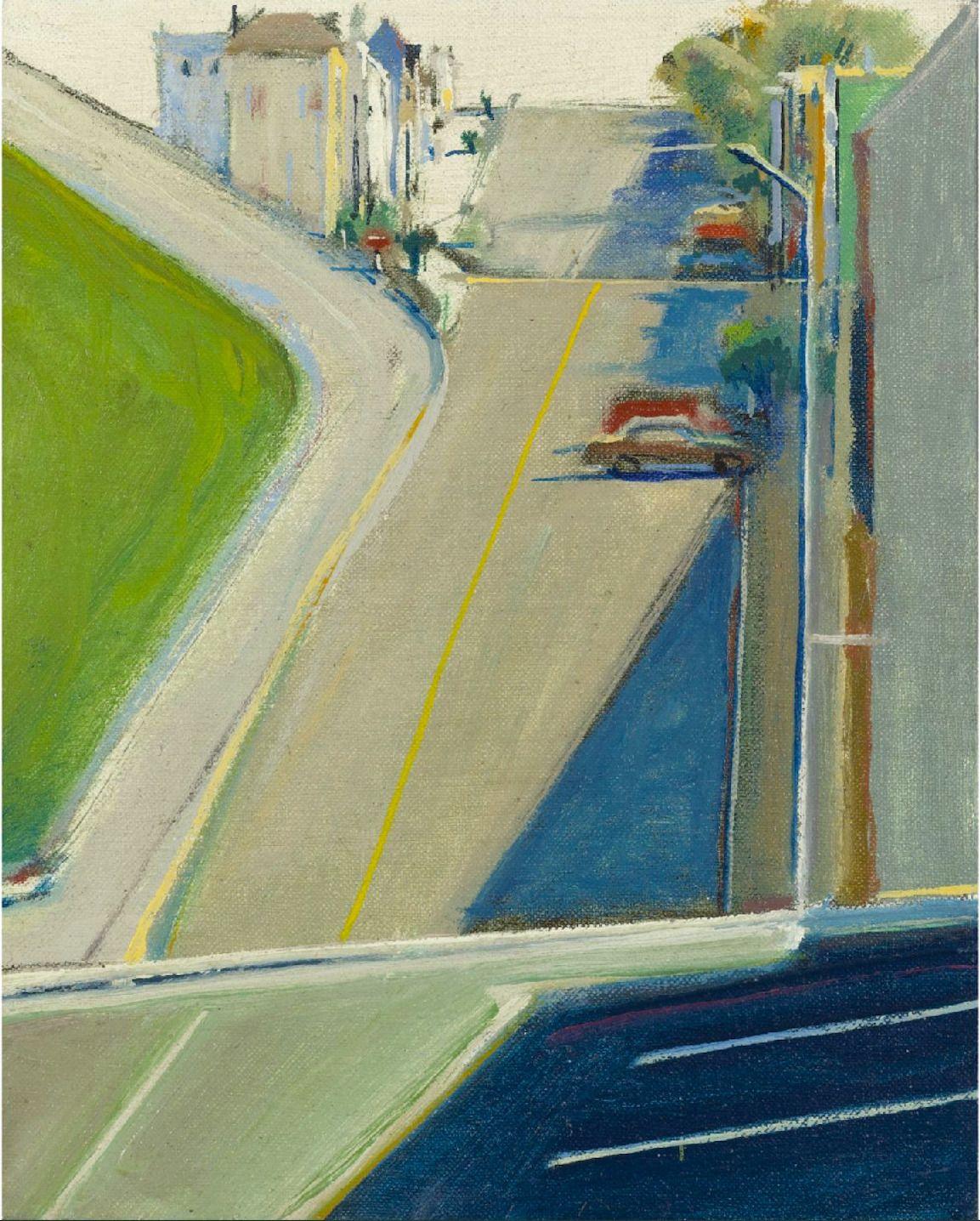 Wayne Thiebaud: Landscape Wayne Thiebaud, Abstract Landscape, Landscape  Paintings, Abstract Art, - Wayne Thiebaud: Landscape City, Town, Village In 2018 Pinterest