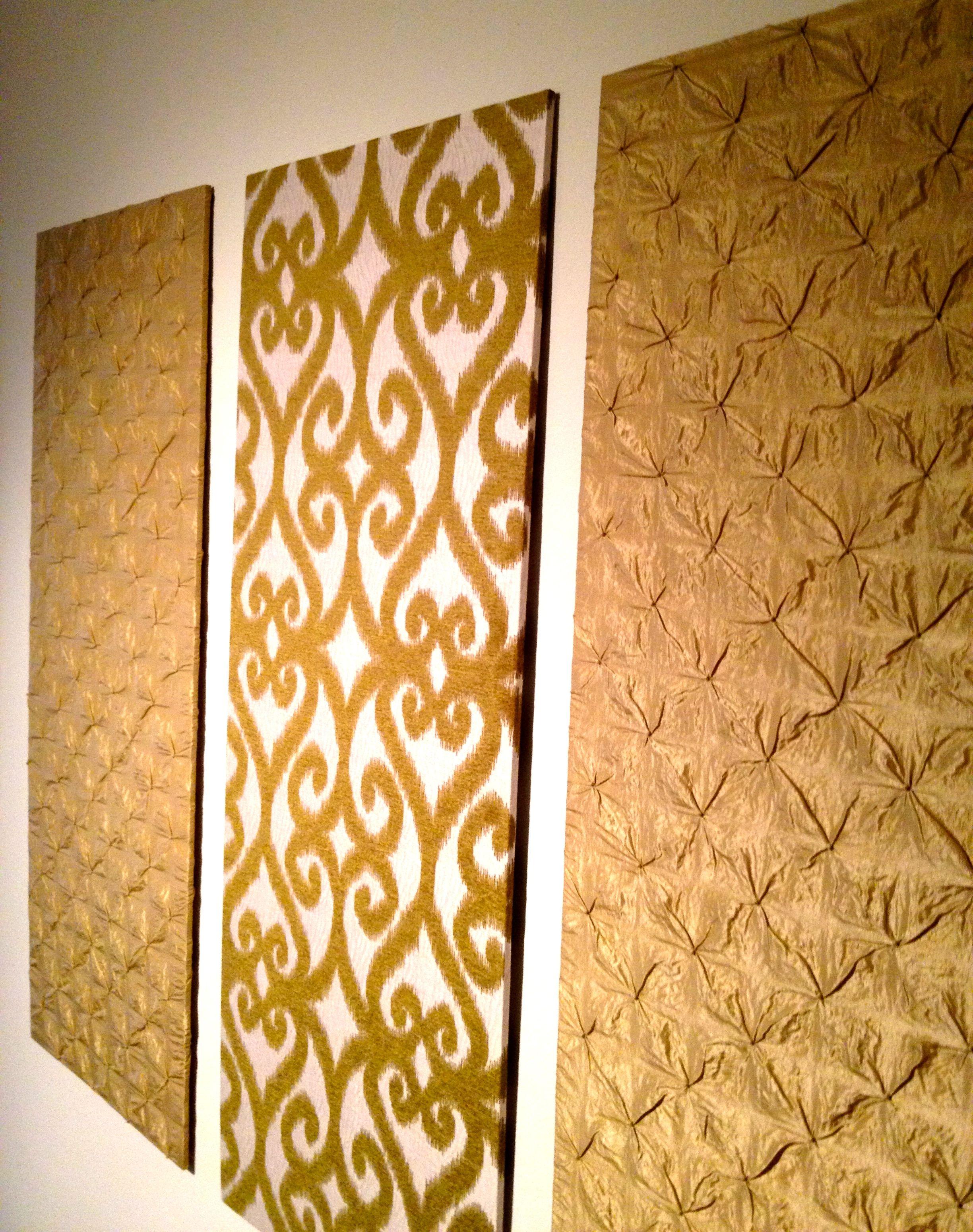 Diy Upholstered Wall Panels Wall Paneling Diy