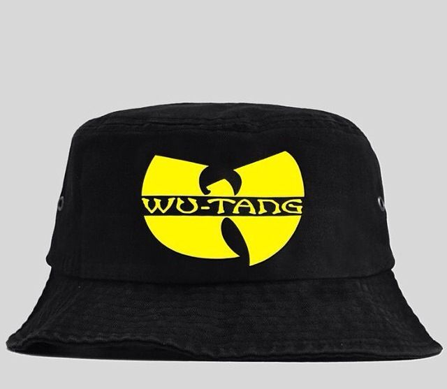 e83f3822 Original Wu tang bucket hat | Hats | Hats, Black bucket hat, Bucket hat
